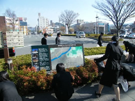 柳井駅周辺清掃活動